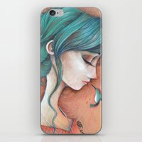infinity iPhone & iPod Skins featuring Infinity by Alessandra Fusi