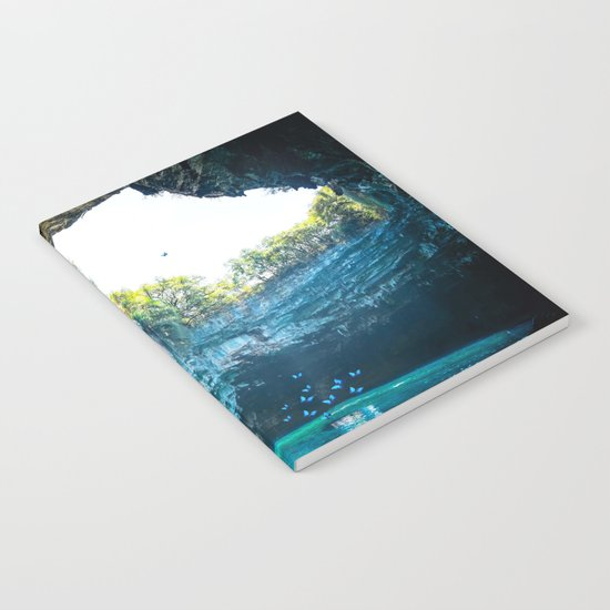 Sea Cave in Greece Notebook