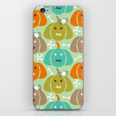 Retro Halloween pattern iPhone & iPod Skin