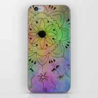 zentangle iPhone & iPod Skins featuring Zentangle by Anne Seltmann