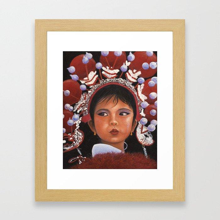 Children of the World III Framed Art Print