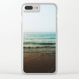 Vivid Morning Waves Clear iPhone Case