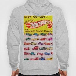 1970's Original Hot Wheels Redline Toy Department Store Display Poster Hoody