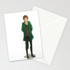 Slytherin at the burberry Stationery Cards