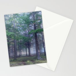 Forest in North Kessock, The Highlands, Scotland Stationery Cards