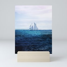 Sailing Ship on the Sea Mini Art Print
