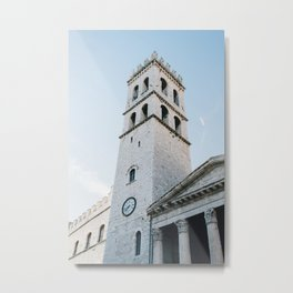 Italian Tower Metal Print