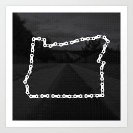 Ride Statewide - Oregon Art Print