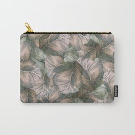 Heathered Grey Intertwine Carry-All Pouch