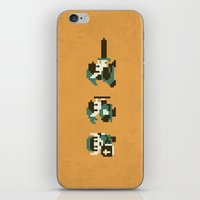 the legend of zelda iPhone & iPod Skins featuring The Legend of Zelda by Brandon Riesgo