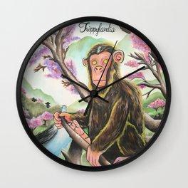 Saru Warrior Wall Clock