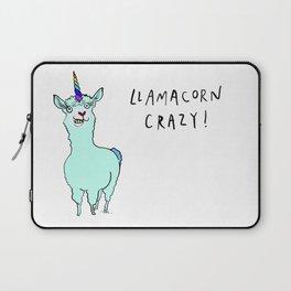 Llamacorn Crazy Laptop Sleeve