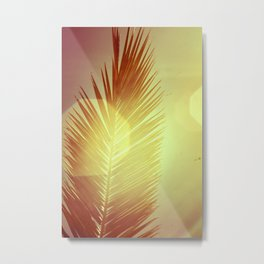 sunray vs palmtree Metal Print