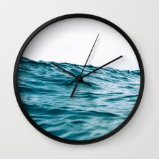 Lost My Heart To The Ocean Wall Clock