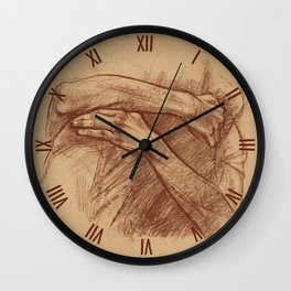 Embrace Wall Clock