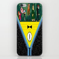 gravity falls iPhone & iPod Skins featuring Gravity Falls by itspronouncedDEE-ANN-UH