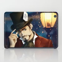 mad hatter iPad Cases featuring THE MAD HATTER by FISHNONES