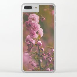 Sprung on Spring Clear iPhone Case