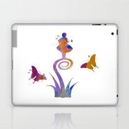 Weird Girl Laptop & iPad Skin