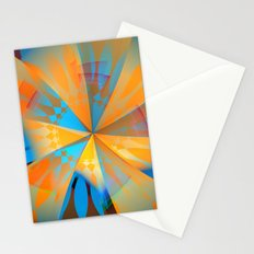 Thinking of a blue sky and the summer sun Stationery Cards