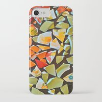 mosaic iPhone & iPod Cases featuring Mosaic by Maggie Dylan