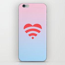 Wireless Love iPhone Skin