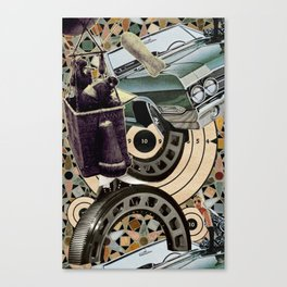 Bombs, Buggies, and Bearings Canvas Print
