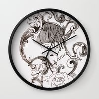 mirror Wall Clocks featuring Mirror by Bake
