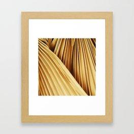 Guld Palm Framed Art Print