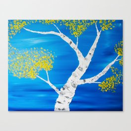 Aspen Swirl Canvas Print