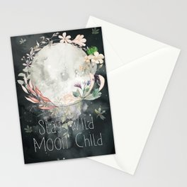 Stay Wild, Moon Child Stationery Cards
