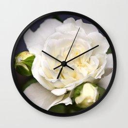 Garden Rose Wall Clock