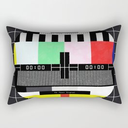 Standby for transmission ... Rectangular Pillow