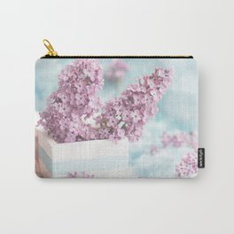 Lilac power in pastel Carry-All Pouch