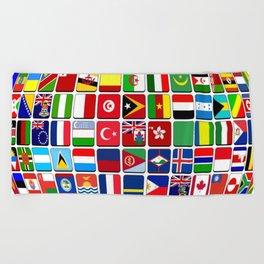 world Beach Towel