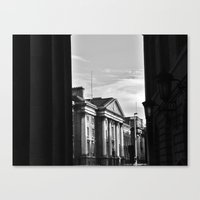 dublin Canvas Prints featuring Dublin by Mithun Pota