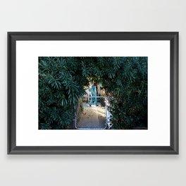 Oleander Bushes Framed Art Print