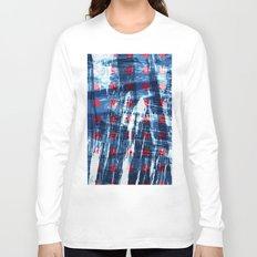 dots on blue ice Long Sleeve T-shirt