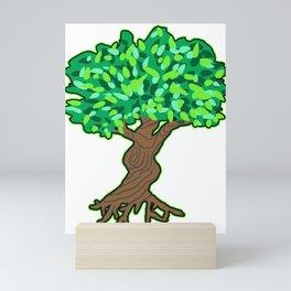 Tree Plant Wood Bush Vegetation Love Gift Mini Art Print
