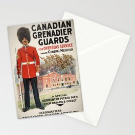 Vintage poster - Canadian Grenadier Guards Stationery Cards