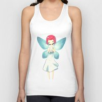tooth Tank Tops featuring Tooth Fairy by Freeminds