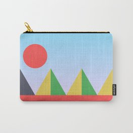 Pyramids in the Sun Carry-All Pouch