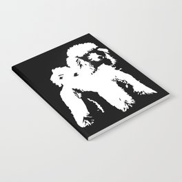 PET POODLE DOG Notebook