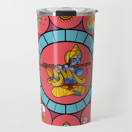 Ten Avatars of Vishnu Travel Mug