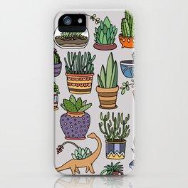 Succulent Party iPhone Case