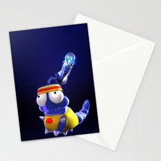 Jogging Grubble Stationery Cards