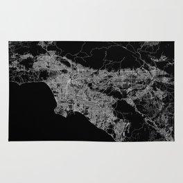 Los Angeles map  Rug
