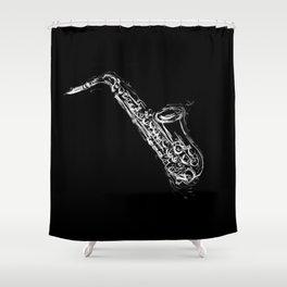 Alto Saxophone Shower Curtain