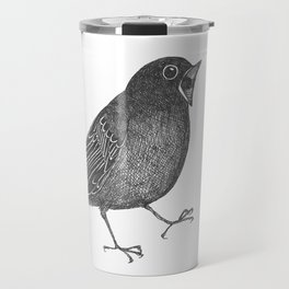 mr screamy the bird yells at the top of his lungs Travel Mug