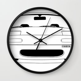 NA Miata/MX-5 Wall Clock